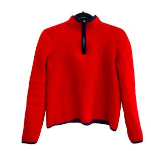 Jenni Kayne Red Cashmere Pullover Sweater S